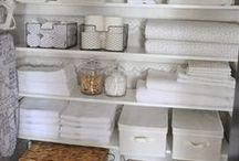 Linen Closet / organized linen closets