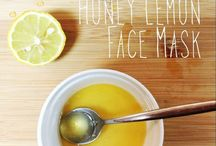 natural remedies / i have an unexplainable obsession for homemade masks or anything related.