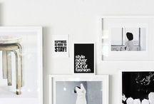 ...just frames...//gallery walls etc