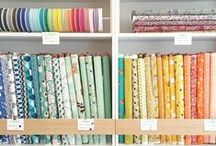 Our shop ! / Photos of our fabric shop located in Paris, France (25, rue Saint-Sebastien)