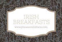 Irish Breakfast / Traditional Irish breakfasts and modern Irish Breakfasts
