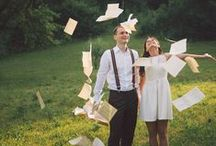 Books photo session / Engagement books photo session! http://ciprian-lupan.ro/