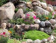 Rock Garden Ideas to go with your Envirocycle Composter / Inspirational ideas to go with your Envirocycle composter! Visit Envirocycle.com to learn more about The Most Beautiful Composter in the World and buy directly from Envirocycle: https://www.envirocycle.com/product/composter/
