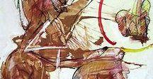 Informalismo no Brasil / Estilo pictórico após a Segunda Guerra que recusa qualquer formalização técnica | Pictorial moviment style that refuses any technical formalization, after Second War.