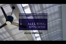 Alluring Window NYC- Watch our videos! / Alluring Window NYC provide full service, from the first Free consultation till the Free installation. We offer an exclusive collection of Window Treatments, from different styles of Shades, Blinds & Drapes among Skylights Shades, Shutters, motorized solutions and room darkening window treatments. We serve all the 5 boroughs.