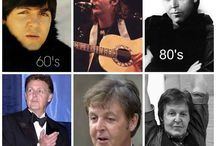 ☆☆ MUSIC ~ (Sir) Paul McCartney☆☆ / This board contains various pictures of Sir Paul with his family, friends and of course...with his band mates. I hope you enjoy this board :-) Charl ( comments welcome )