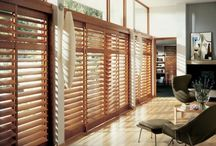 Window Shutters by Alluring Window / Window shutters, often called Plantation shutters, are the epitome of custom made window treatments, giving long term benefits and a highly sophisticated look for your home. Alluring Window NYC carries Hunter Douglas top notch wood shutters or faux wood shutters in real wood  PVC  and composite wood.