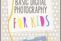 Photography Curriculum for Teaching Photography to Kids / Teaching photography to kids can be very rewarding. Here are some tips for what to include in your lesson plans, how to teach photography to kids and photography projects for kids.  There are many great ideas for teaching photography including games and projects and worksheets. p
