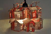 Trabajos con papel / Paper, cardboard / by Dolores Mario Alvarez