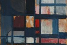 Lubomír Blecha (1933 - 2009) - Serie Mondrianicae 1957 - 62 / The story of transcription of neoplasticism into glass art