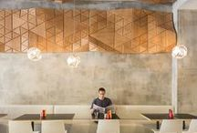 Restaurant Design / Restaurant design from around the world that catches our eye...for one reason or another.