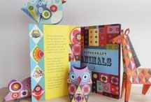 "ANIMALS PAPERCRAFT BOOK / I was delighted a few days ago to receive my copy of ""ELLEN GIGGENBACH PAPERCRAFT ANIMALS"" I had so much fun creating this with Janie and the wonderful team at TEMPLAR PUBLISHING There are 20 models to make plus stickers to decorate them, I designed them for children and adults to make and enjoy, I have had so much fun displaying them through out the house as little art objects, perfect to fill a dull space!"