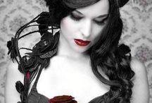 Gothic Shtuff / Gothic Fashion styles, gothic music, and art. Beautiful dark subculture!