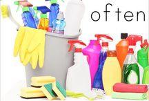 Putztipps / Cleaning / It's gotta be done...
