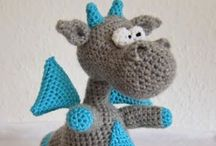 Amigurumi / Crocheting little critters doesn't take all that long, but the outcome is always adorable.