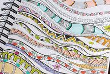 Zentangle Borders / Borders for doodles and zentangles