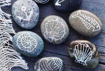 Steine / Stones / Painting on stones or rocks