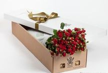 Розы в подарочной коробке / Розы , прекрасный подарок на все случаи.