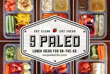 Bento lunch / Fun and healthy lunches