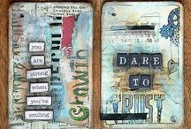 ATCs / Artist Trading Cards - share your ideas via trading. Also great for project life.