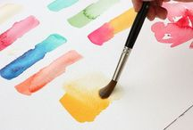 Watercolour / Tutorials and pictures done in watercolour