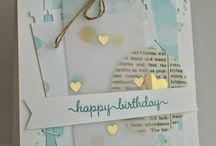 Vellum / Using vellum on cards and paper crafting adds a lovely soft appearance.