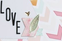 Arrows & Chevron / Inspiration for using arrows and chevrons in card design and paper crafting.