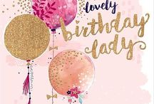Birthday Cards / Birthday cards are probably the ones most often sent. So get out those balloon and flower dies.