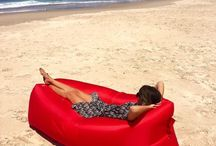 Air Loungers / Love the outdoor but not a fan of itchy grass or getting sand everywhere? Our Air-Lounger is ultra-durable, ridiculously comfortable and has gone crazy in Europe! Now it's your turn to live a fabulous life at an affordable price.
