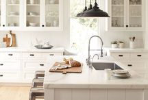 My favorite kitchens / Creative, clean and cozy kitchens