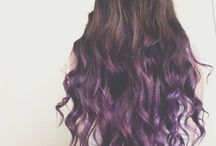 Color ombre hair