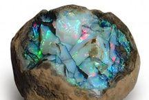 Minerals... / pretty metals, minerals, stones, rocks, etc... / by Trina Harris