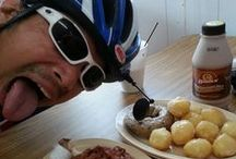 Bike Fuel / What do you eat when you're biking 75 miles/day across the country?