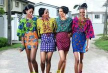 African style fashion / Fashion with an African touch.