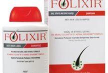 Folixir Ürünleri / Folixir Tablet - Şampuan - Saç Kremi - Meral Şaşoğlu