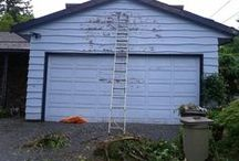 Projects As They Were Done / Following An Exterior Paint Job from start too finish