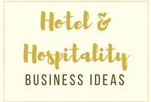Hotel + Hospitality Business Ideas / Hotel + Restaurant + Hospitality Technology | Following the ideas, news and trends in Hotel Marketing and Hotel Management.