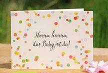 Babykarten & Kinderkarten / Hier findet ihr Schönes auf Papier für euer Kind. Weitere Inspirationen folgen #baby #kids