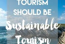 How to be a responsible traveller / How to be a responsible traveller: tips and ideas to reduce your impact as a traveller and scuba diver in the world