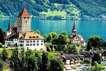 Dive & Travel in Switzerland / Scuba diving and travel in the most beautiful places in Switzerland