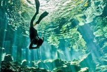 Dive & Travel in Mexico / Scuba diving and travel in the most beautiful places in Mexico