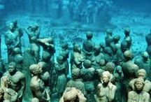 Underwater Museums around the world / Underwater museums to discover around the world