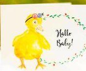 Baby Geburt natürlich / Hier findest du Inspirationen für eine natürliche Geburt, Tierkinder auf Papier und aus Stoff zum Liebhaben. #natürlich #baby #tierkinder #tierillustration #slowliving #nachhaltig