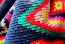 Bright Colors / Hand-Made Susu Bags - Bright Colors