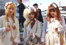 Japanese fashion: dolly / cult party kei
