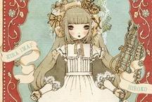 Kira Imai drawings <3