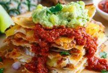 Delicious Recipies ♡ / food, platillos almuerzos, comida, snaks