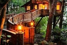 Bohemian/Gypsy/Hippie living/deor/architecture
