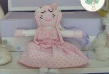 Girl Dollies / Memory Dollies are treasured keepsakes made from your child's precious first garments. Ideal New Baby, Baby Shower,Christening presents. Find out more about ordering and prices (from £18.00) at http://bit.ly/1gwGTbP or PM me.
