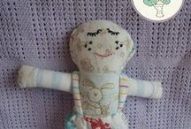 Boy Dollies / Memory Dollies are treasured keepsakes made from your child's precious first garments. Ideal New Baby, Baby Shower,Christening presents. Find out more about ordering and prices (from £18.00) at http://bit.ly/1gwGTbP or PM me.